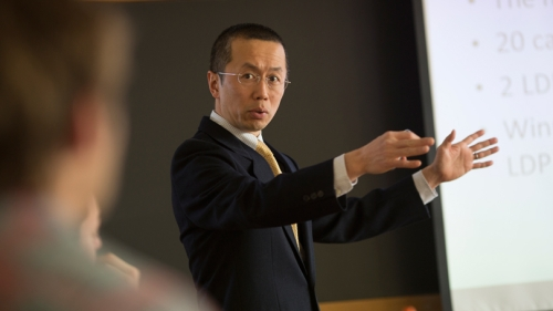 Yusaku Horiuchi, the Mitsui Chair in the Study of Japan
