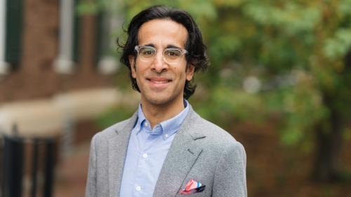 portrait of Professor Sonu Bedi