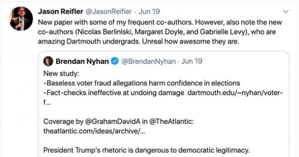 Jason Reifler tweet